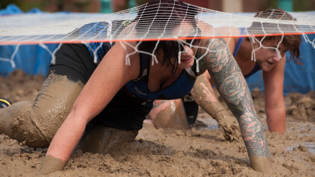 Mud Mixer - Adult Obstacle Hard as Nails Mud Obstacle Course