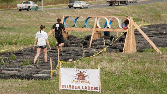 Rubber Ladder - Adult Obstacle Hard as Nails Mud Obstacle Course