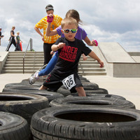 Youth Obstacles - Colorado Mud Run - Hard as Nails Mud Obstacle Race Westminister, Colorado