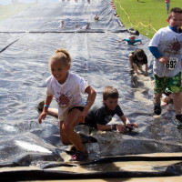 Hard as Nails Mud Obstacle Race Youth Slip and Slide Westminster Colorado